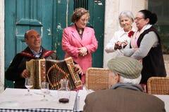 Португалия - ` страна вполне старые люди ` Стоковые Изображения