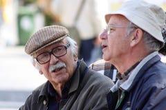 Португалия - ` страна вполне старые люди ` Стоковая Фотография