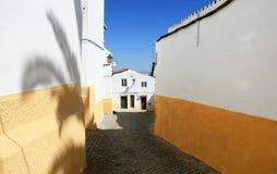 португалка домов elvas типичная стоковое изображение