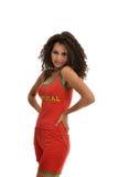португалка футбола вентилятора Стоковое Фото