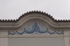 Португальская архитектура в Loule Португалии Стоковые Изображения RF