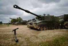 Португальские маневры армии стоковая фотография