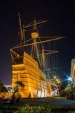 Португальский старый деревянный корабль Стоковые Изображения RF