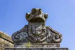 Португальское monarchic пальто рукояток Стоковое Фото