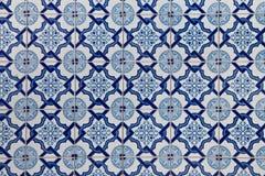 Португалка кроет Azulejo черепицей Стоковая Фотография
