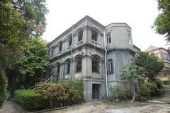 Португальская провинция Фуцзяня gulangyu дома Стоковая Фотография RF