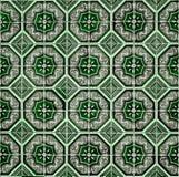 Португальские декоративные azulejos плиток Стоковые Изображения RF