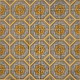Португальские декоративные azulejos плиток Стоковое Фото