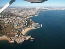 Португальские побережье и пляж стоковые фото