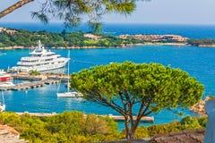 Порту Cervo, Сардиния Стоковые Фото