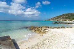 Порту Mari приставает - пляж к берегу Стоковые Изображения