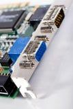 порты компьютера Стоковые Изображения RF