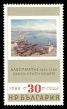Порт Алжира Альбертом Marquet стоковые фотографии rf