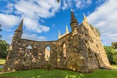 Порт Артур Тасмания церков каторжник стоковые фотографии rf