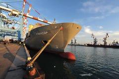 Порт Ашдода - Израиля Стоковое Изображение