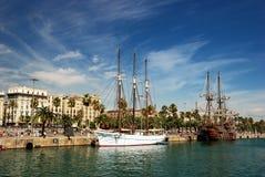 Порт Барселоны стоковая фотография