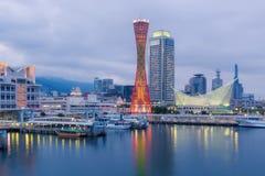 Порт башни Кобе Стоковое Фото