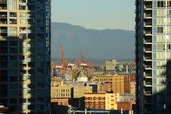 Порт Ванкувера, ДО РОЖДЕСТВА ХРИСТОВА, Канада Стоковая Фотография