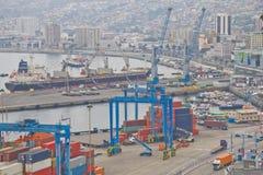 Порт Вальпараисо Стоковое Изображение RF
