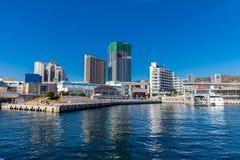 Порт взгляда Кобе в Японии Стоковая Фотография RF