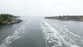 Порт входного сигнала военноморской Стоковое Изображение RF