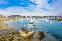 Порт в Бретане Стоковая Фотография RF