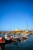 Порт в Вальпараисо стоковые фото