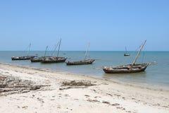 Порт в городке Bagamoyo стоковое фото rf
