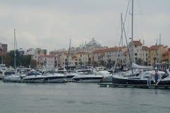 Порт в Европе Стоковые Фотографии RF