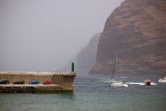 Порт в Лос Gigantes Стоковое Изображение RF