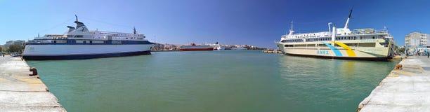 Порт в Пирее Стоковые Фотографии RF