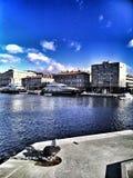 Порт в Риеке Стоковые Изображения RF