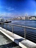 Порт в Риеке Стоковые Фото
