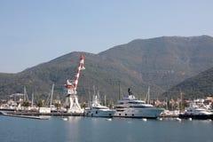 Порт в Черногории Стоковая Фотография RF