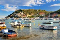 Порт в Porto Ercole Стоковые Фото