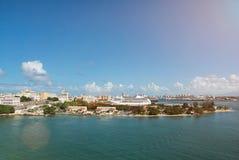 Порт в Puero Rico стоковые изображения rf