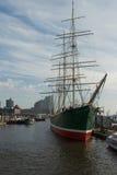 Порт Гамбурга, Германии Стоковое Изображение RF