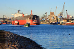 Порт Гданьск стоковые изображения rf