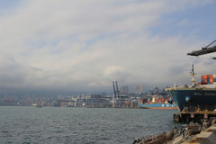 Порт Гонконга Стоковые Фотографии RF
