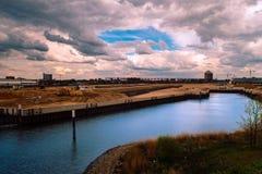 Порт города Гамбурга Hafencity/ стоковые фото