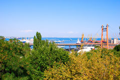 порт груза Стоковые Фото