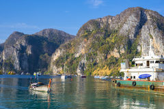 Порт Дон Phi-Phi стоковое фото rf