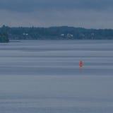 Порт ждать в ненастном архипелаге Стоковые Изображения RF