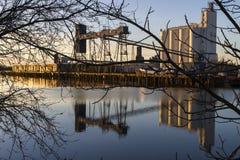 Порт западного Сакраменто Стоковая Фотография