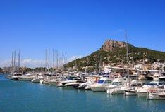 порт Испания estartit Косты brava Стоковое Фото
