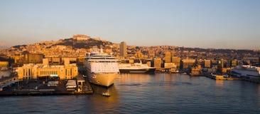 порт Италии naples Стоковые Изображения RF