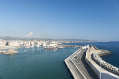 порт Италии civitavecchia Стоковые Фотографии RF