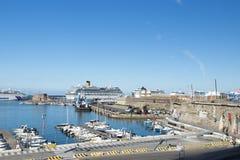 порт Италии civitavecchia Стоковая Фотография