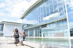 Порт и воздуха Danang солнечный день Стоковые Фотографии RF