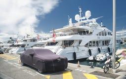 Порт и гавань в St Tropez Стоковые Изображения RF